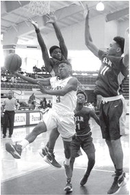 North Little Rock stops Marion