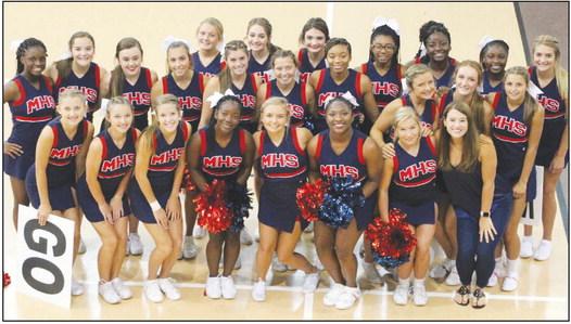 Marion Cheerleaders show winning spirit