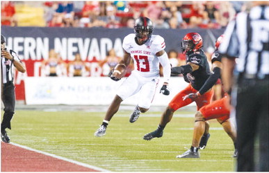 Red Wolves rout UNLV 43-17 in Anderson's return