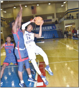 Blue Devils roll against Bartlett