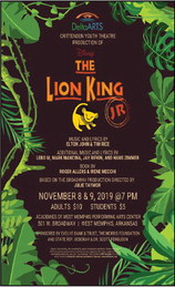 DeltaARTS' Crittenden Youth Theatre presents 'Disney's The Lion King, JR'