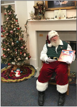 Santa at the Library