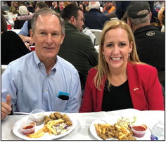 AG at the Oyster Supper
