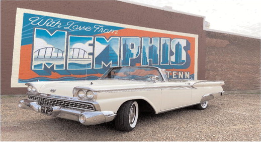Take a Rockin' Ride around Memphis in style with Brad Birkedahl's 'Rock n Ride' tours