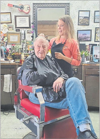 Barbers, beauticians back in business