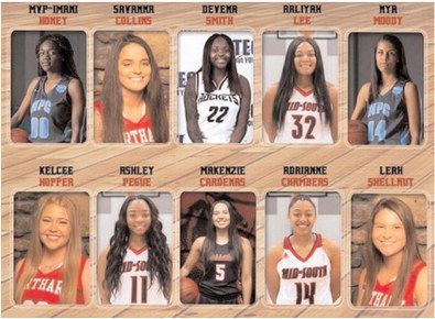 All-Region Lady Greyhounds