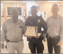 Officers of the Month
