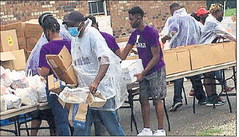 Church event blesses county residents