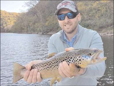 Excellent angling in North Arkansas